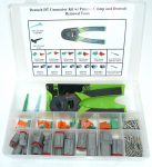 Deutsch DT Connector Kit w/Greenlee Crimp Tool 136 pcs 1 Each