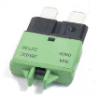 Low Profile ATC® 30 Amp Green Circuit Breaker 1 Each
