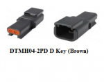 Deutsch DTMH04-2PD Receptacle Assembly 1 Each