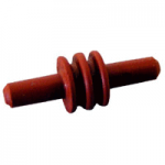 12059168 Delphi Cavity Plug Dark Red 25 Count Bag