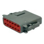 Deutsch DTM06-12SA Plug 12 Socket Gray 2 Each