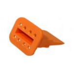 Deutsch W8S Wedge Orange 2 Each