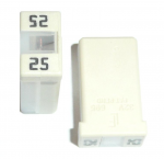 MCase™ 25 Amp Cartridge Fuse Clear 32V Pack of 5