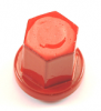 Stud Nut Group 31 Positive Red Cap Nut Bag of 5