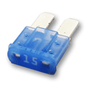 15 Amp MICRO2 Fuses 32V Blue Pack of 5