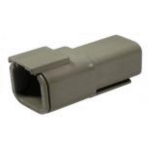 Deutsch DTM04-6P Receptacle 6 Pin Gray 2 Each