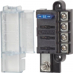 Blue Sea 5045 St Blade Compact Fuse Block- 4 Circuits