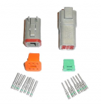 Deutsch DT 6 Way (Male & Female) Connector Kit