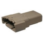 Deutsch DTM04-08PA Receptacle 8 Pin Gray 2 Each