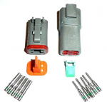 Deutsch DT 4 Way (Male & Female) Connector Kit