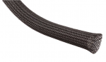 "Techflex Clean Cut™ Expandable Sleeving, 3/8"" Black 25'"