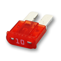 10 Amp MICRO2™ Fuses 32V DC Red Pack of 5
