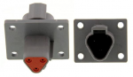 Deutsch DT04-3P-L012 Receptacle 3 Pin w/ Mounting Flange 1 Each