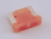 5 Amp Low Profile Mini Fuses LMIN5 5 Count Bag
