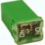 JCASE High Amp Fuse 40A Green 1 Count Bag