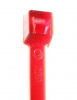 "4"" #18 lb Minature Red Cable Ties 100/Pkg."