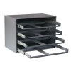 DURHAM 303-95 Easy Slide Rack 4 Drawers
