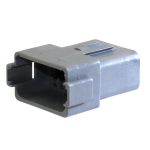 Deutsch DT04-12PA Receptacle 12 Pin Gray Bag of 2