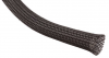 "Techflex Clean Cut™ Expandable Sleeving, 1-1/4"" Black 25'"