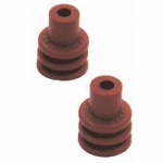 12048086 Delphi 18 AWG Cable Seal Dark Red 25 Count Bag