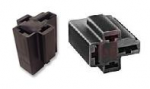"70 Amp Relay Connector PR04-WH - 4 Terminals 2-3/8"" & 2-1/4"" 5 Pack"