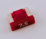 7-1/2 Amp Low Profile Mini Fuses LMIN7.5 5 Count Bag