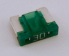 30 Amp Low Profile Mini Fuses LMIN30 5 Count Bag