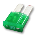 30 Amp MICRO2™ 30 Fuses 32V Green Pack of 5