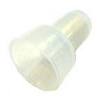 Nylon Closed End Connectors (Pigtail Connectors), Clear, 8 AWG