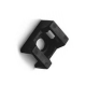 Standard Screw Mount Black AL-SM1-0-C #6 Bag of 100