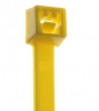 "4"" #18 lb Minature Yellow Cable Ties 100/pkg."