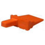 Deutsch WM6P Wedge Orange Bag of 5