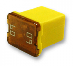 Low Profile JCASE 60 Amp Yellow 1 Count Bag